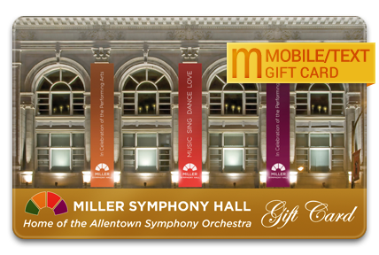 Allentown Symphony Association M-Gift Card
